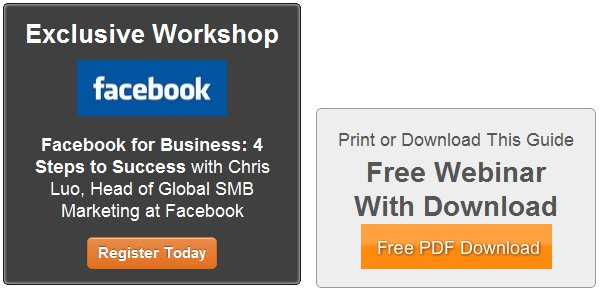 HubSpot Gives you a free workshop, or lets you download a guide in exchange for your e-mail